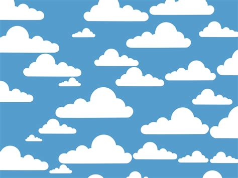 clipart cloud clue simple clouds free images at clker vector