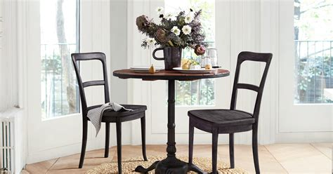 pottery barn small spaces  furniture collection