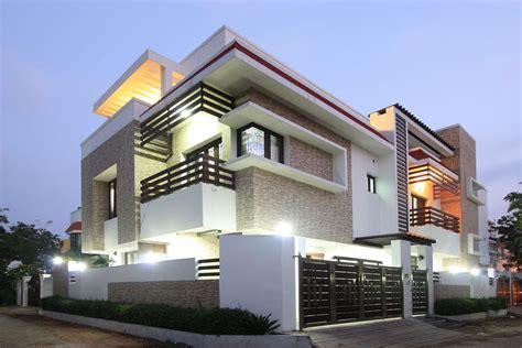 corner house palawakkam chennai   unique house