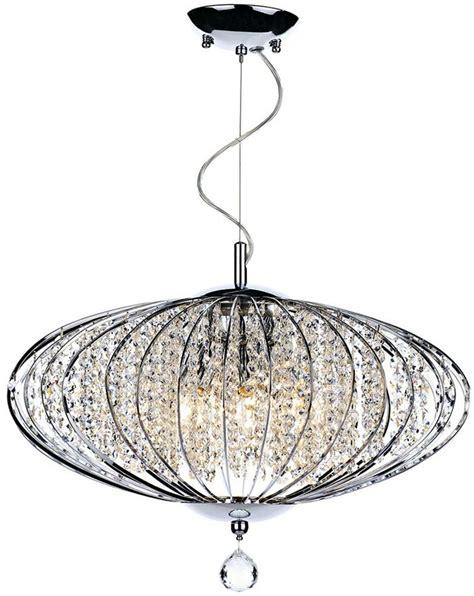 Oblong Ceiling Light by Dar Adriatic Modern 5 Light Oval Ceiling Pendant