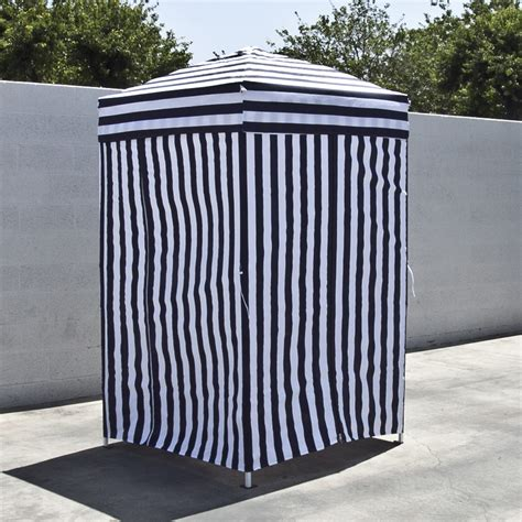 outdoor changing room portable changing tent cabana stripe room privacy pool