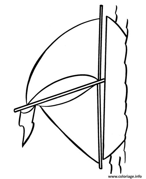 dessin bateau simple coloriage bateau facile 98 jecolorie