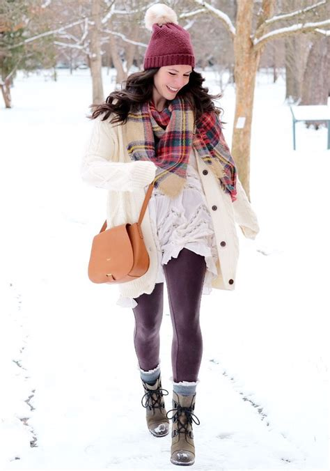 snow outfits with leggings and boots 6 items you need for a stylish snow day outfit me and mr