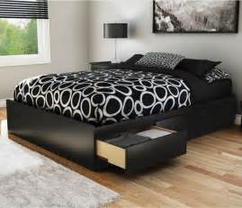 Platform Bed Bedding Ideas Diy Platform Storage Bed Frame Studio Design Gallery