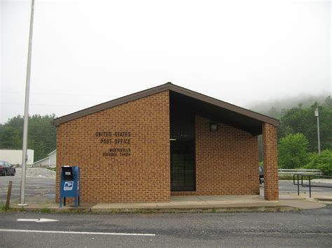 Troutdale Post Office by Montebello Virginia Post Office Post Office Freak