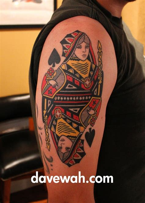 queen of spades tattoo meaning of spades meaning pictures to pin on