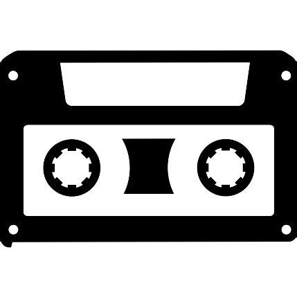 cassetta musica musical cassette free icons