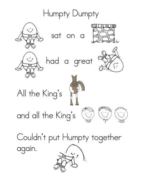 printable lyrics for nursery rhymes 25 best ideas about nursery rhyme activities on pinterest