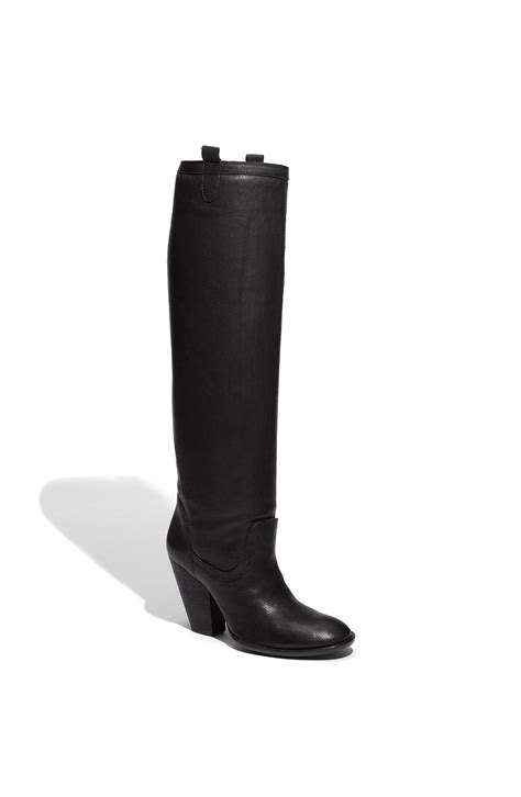vince camuto black boots vince camuto braden boots in black lyst