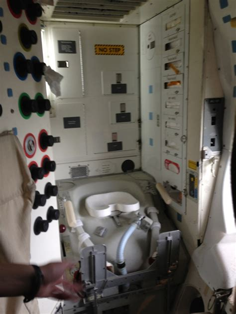 space shuttle bathroom i took this amazing tour inside the space shuttle so