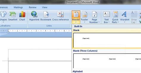 membuat kop surat word 2013 bulan dan bintang cara membuat kop surat di ms word 2007