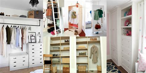 Creative Closets by Remodelaholic 14 Creative Closet Solutions To Organize