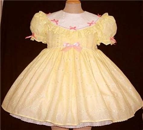 Dress Baby Lemon Import sissy baby dress quot lemon pie quot by annemarie ebay