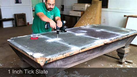 3 slate pool table antique pool table 4 slate
