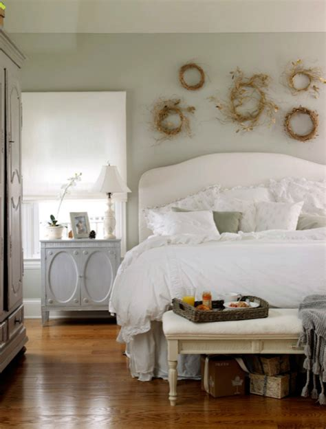 gray nightstand cottage bedroom laura moss photography