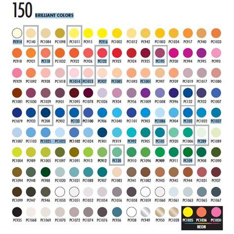 prismacolor colored pencils 150 prismacolor pencils 150 chart prismacolor colored