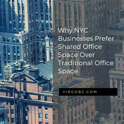 Shared Office Space Nyc by Why Nyc Businesses Prefer Shared Office Space