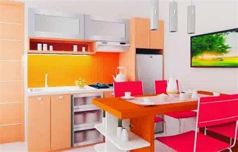 tata ruang meja makan desain dapur dan ruang makan kreatif