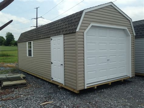 12x24 Shed For Sale by 4187 12x24 Vinyl Barn Garage On Sale