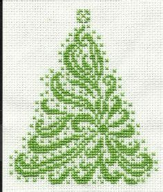 25 best ideas about christmas cross stitch patterns on