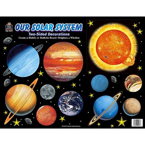 solar system decorations page 2 pics about space solar system 2 sided decorations tcr4979 teacher