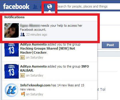 fb kena spam cara mengembalikan akun facebook yang di hack lupa password