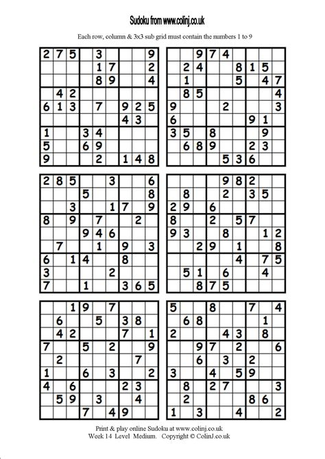 9 best sudoku i m up to medium puzzles now in the basic inspirational free sudoku printable downloadtarget
