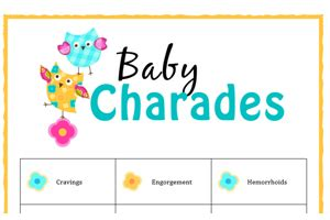 Baby Shower Charades Printable by Free Baby Printables Baby Hints And Tips
