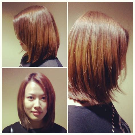convex haircut convex hair layers convex layered short bob hairstyles