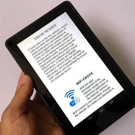 android ebook reader momomo ebook reader smart android wireless wifi digital player 7 inch touch screen e book