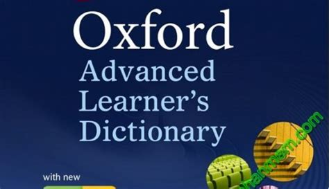 Oxford Advanced Learners Dictionary Edisi 9 phần mềm học tập
