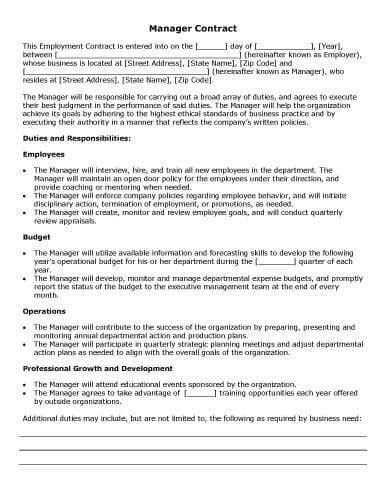 professional organizer contract template 32 sle contract templates in microsoft word