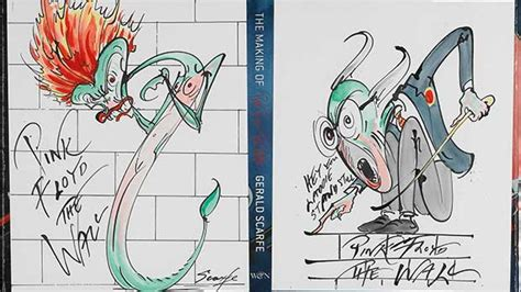 terry gilliam pink floyd first editions redrawn sotheby s