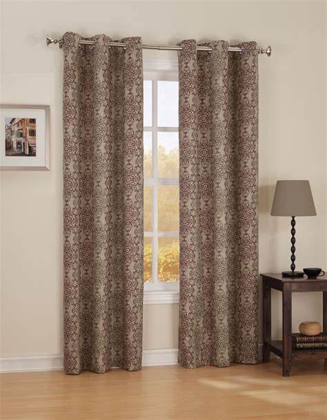 kmart curtain panels jaclyn smith curtain panel kmart com