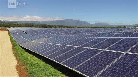 elon musk kauai tesla solar panels are starting to power hawaii island