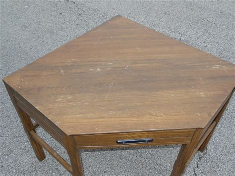 Ranch Oak Desk by 1960s A Brandt Ranch Oak Western Corner Desk Nut Brown