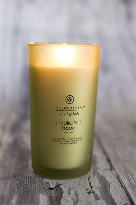 Chesapeake Bay Candle Glacial Water Mint by Embracing Mind With Chesapeake Bay Candles