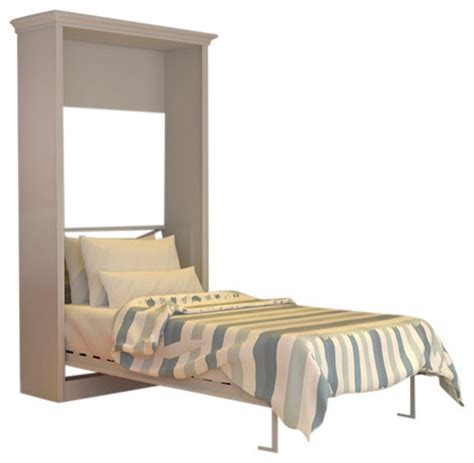 murphy bed twin twin portrait wall bed white contemporary murphy beds