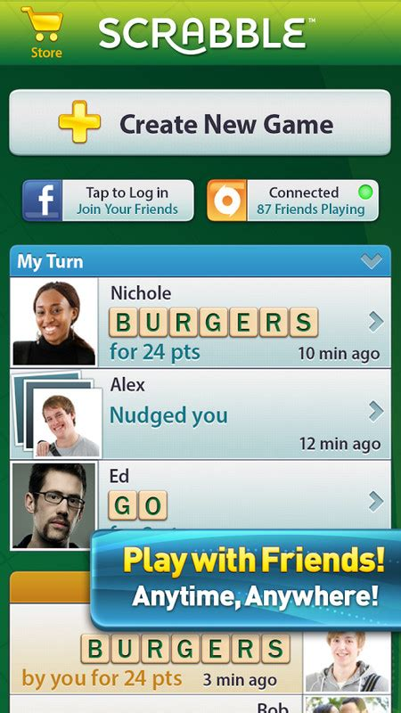 scrabble app play against computer scrabble free android the free