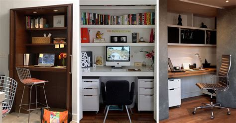 I Got A In Closet by Small Apartment Design Idea Create A Home Office In A