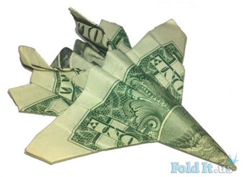 Tree Frog Money Origami Dollar Bill Vincent The Artist - dollar bill f 18 fighter jet