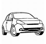 Renault Clio Disegni Da Colorare Di Mezzi Trasporto