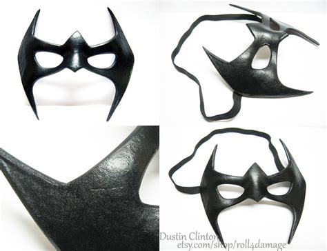 nightwing mask by swanboy on deviantart