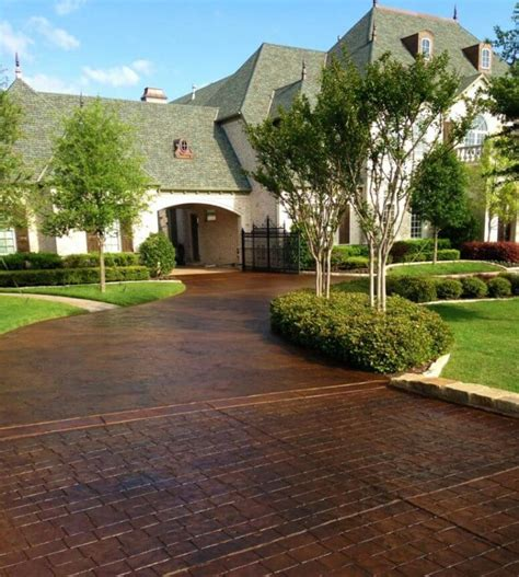 brick driveway 29 modern driveway ideas to improve the appeal of your house