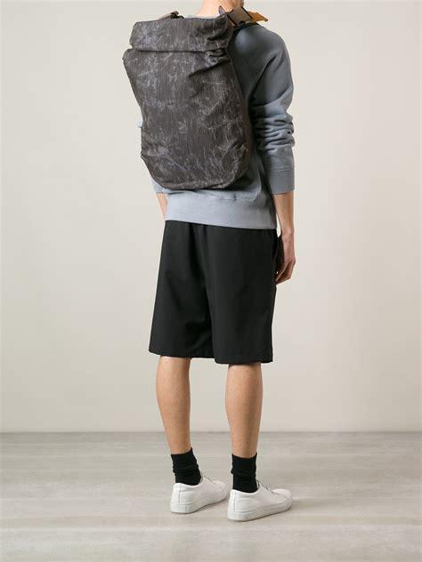 Ciel Shoulder Bags Grey lyst c 244 te ciel nile backpack in gray for
