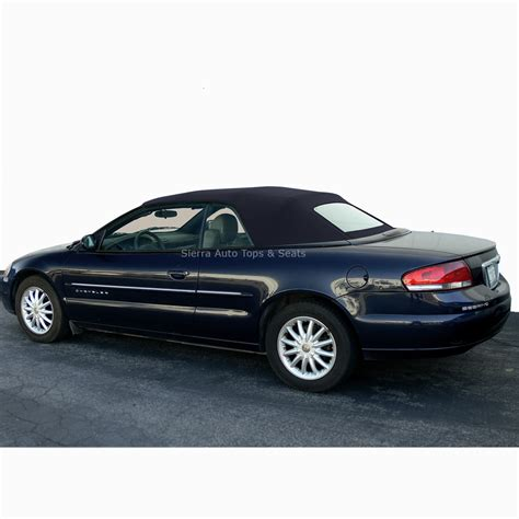 chrysler sebring convertible top black vinyl