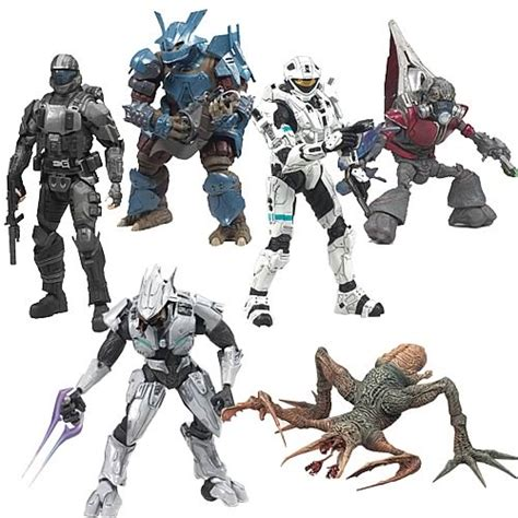 halo toys for sale halo 3 series 6 figure mcfarlane toys halo