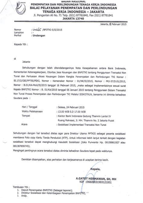 contoh surat ke disnaker service laptop