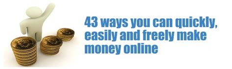 Make Money Online List - 39 unique ways to make money online fast and free latest list digital seo guide