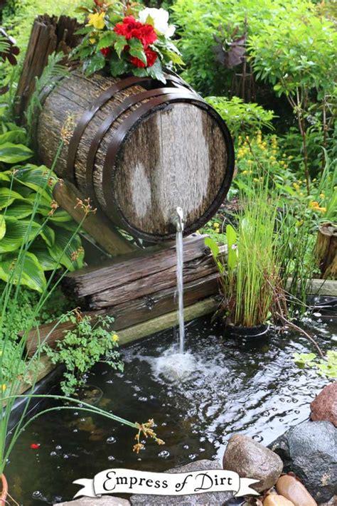 beautiful backyard pond ideas   budgets